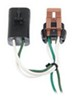 Curt T-Connector Vehicle Wiring Harness with 4-Pole Flat Trailer Connector No Converter C56056