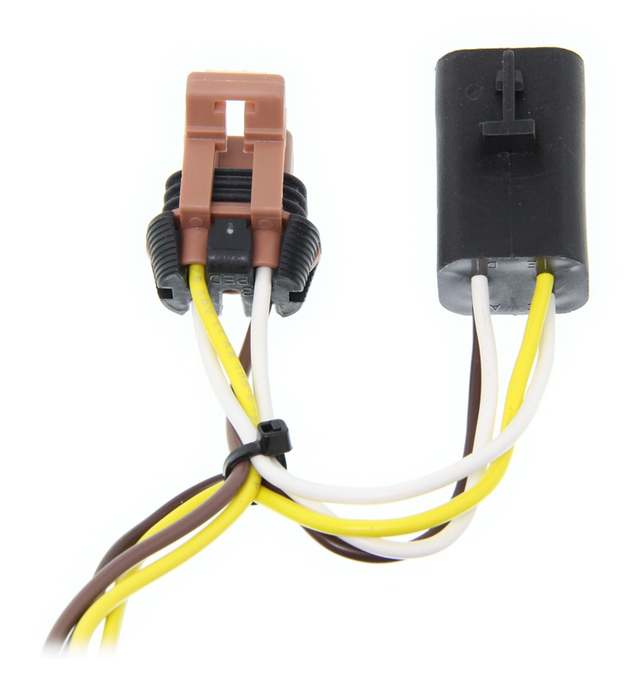 Trailer Wiring Harness For 2010 Gmc Acadia : Gmc acadia curt t connector vehicle wiring harness