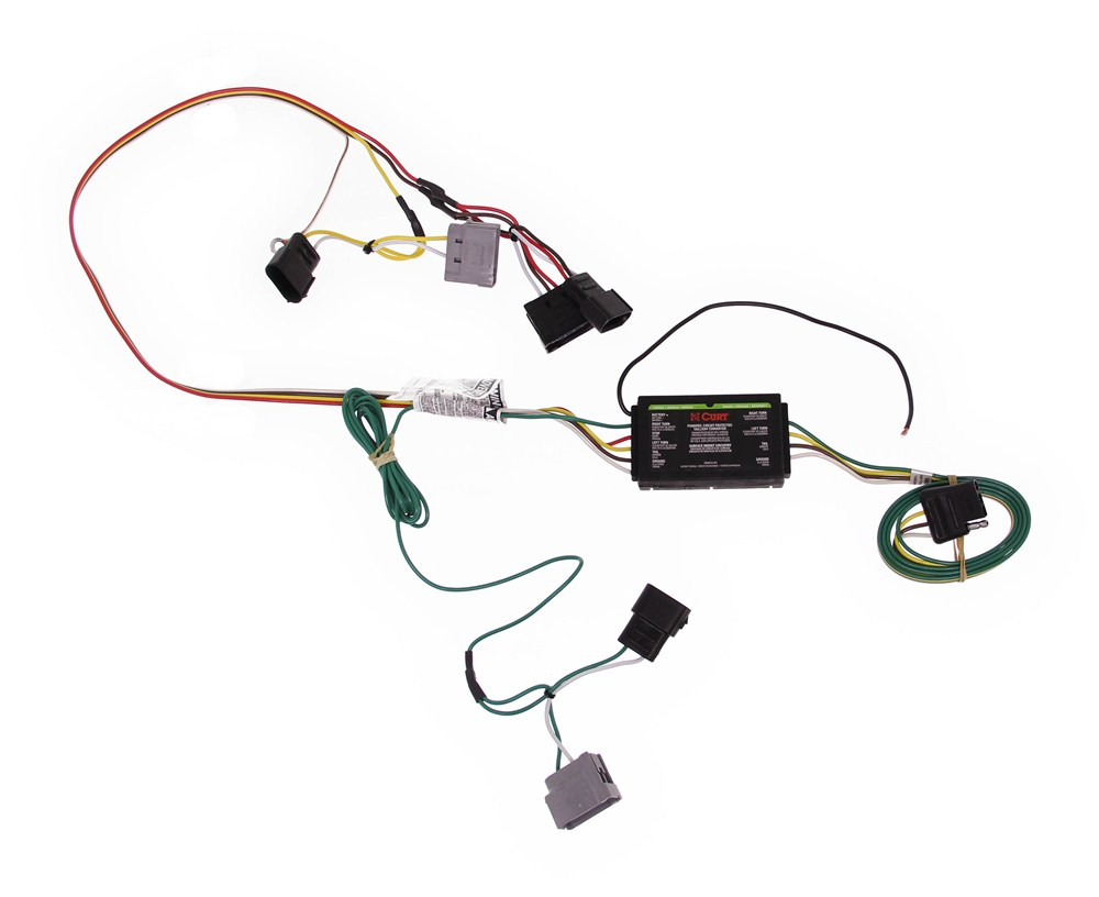 Compare Vs Plug N Tow R 4 Flat Wiring Diagram For Trucks Curt Custom Fit Vehicle C56075