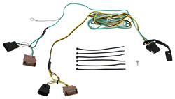 Curt 2012 Ford Fiesta Custom Fit Vehicle Wiring