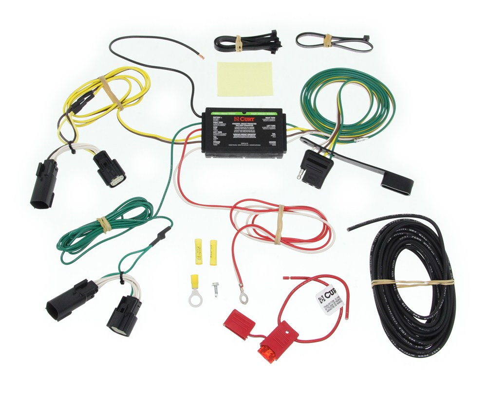 T connector vehicle wiring harness curt custom fit