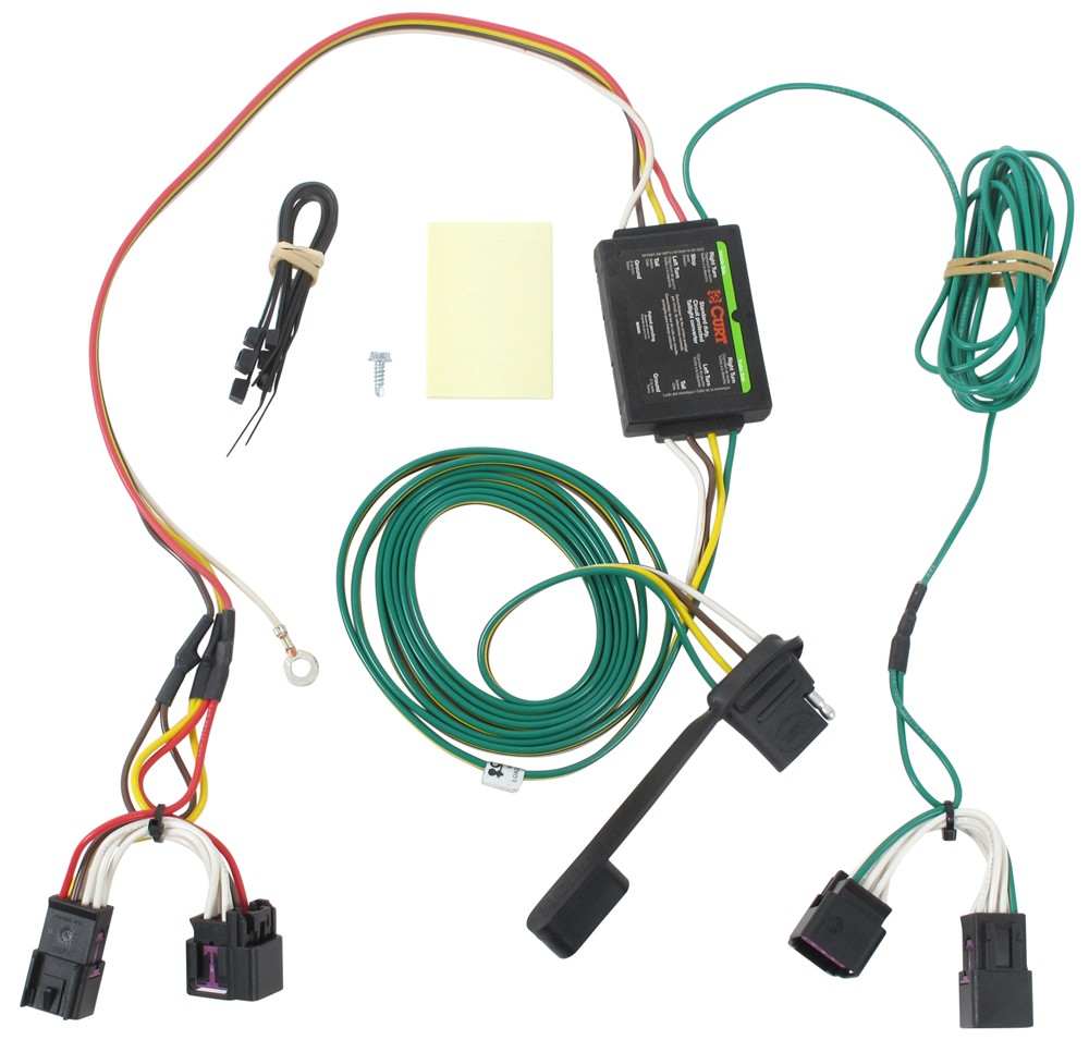 Compare Vs Curt T Connector Vehicle Wiring Harness With 4 Pole Flat Trailer Custom Fit