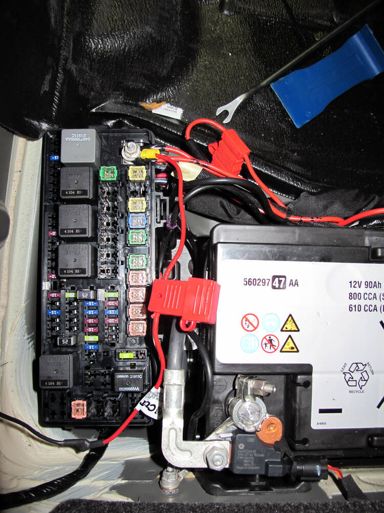 2012 Dodge Charger Custom Fit Vehicle Wiring