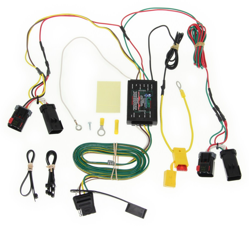 Chrysler 300c Curt T Connector Vehicle Wiring Harness With 4 Pole 300 Ke Light Fuse Box Flat Trailer