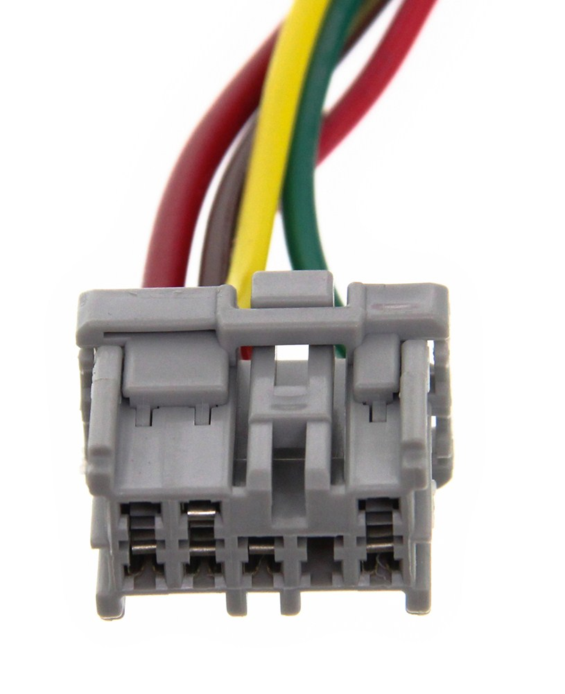 Compare Curt T Connector Vs Thread Install Trailer Wiring Harness C56161 4 Flat Custom Fit Vehicle