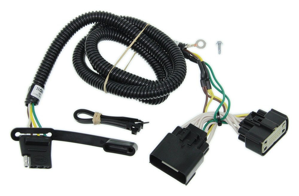 curt t connector vehicle wiring harness with 4 pole flat trailer ford wiring diagrams curt t connector vehicle wiring harness with 4 pole flat trailer connector curt custom fit vehicle wiring c56172