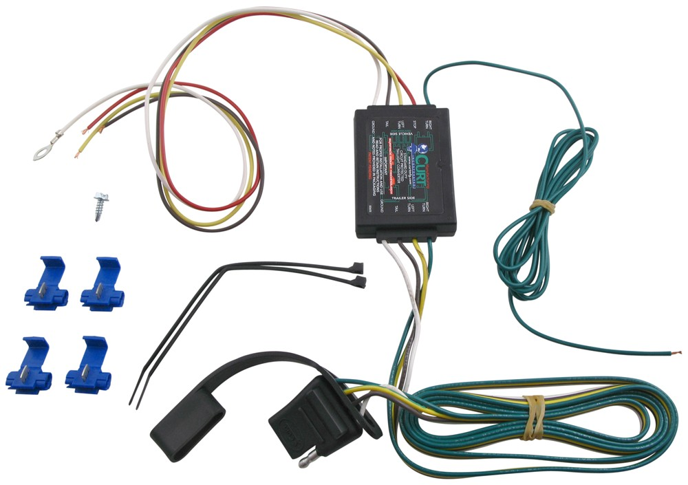 astro van trailer wiring harness curt circuit protected converter w/ smt curt wiring c56175