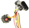 Curt T-Connector Vehicle Wiring Harness with 4-Pole Flat Trailer Connector Powered Converter C56181