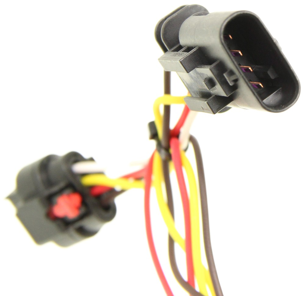 Compare Vs Curt T Connector Rubber Boat Wiring Harness Sleeve Vehicle With 4 Pole Flat Trailer Powered Converter