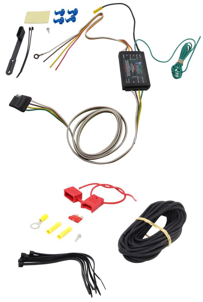 Curt Vehicle End Connector Wiring - C56190KIT