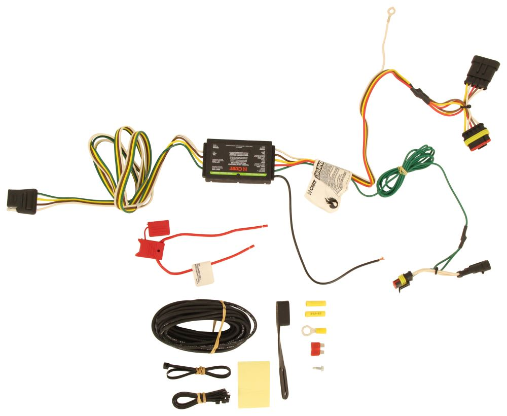 2014 Fiat 500l Wiring Diagram Experience Of 1984 Mastercraft 2015 Curt T Connector Vehicle Harness With 4 Pole Rh Etrailer Com