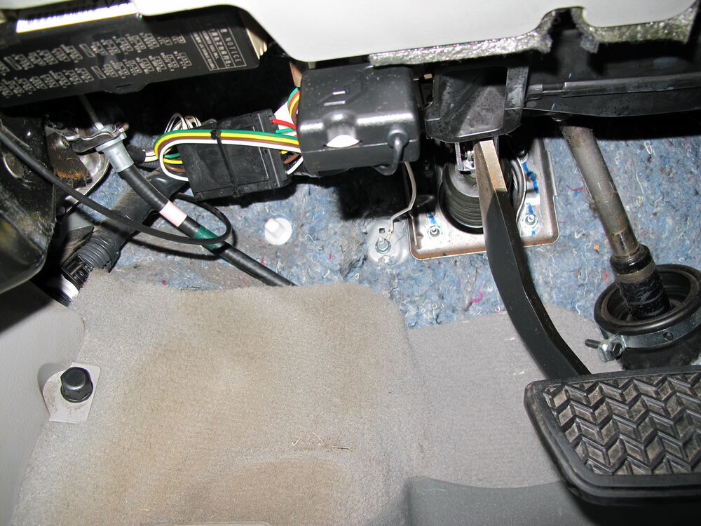 Diagram 2010 Toyota Highlander Trailer Wiring Harness Installation
