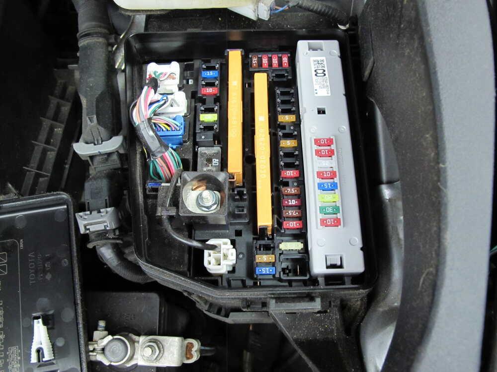 2014 Toyota Highlander Custom Fit Vehicle Wiring