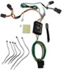 Curt T-Connector Vehicle Wiring Harness with 4-Pole Flat Trailer Connector Converter C56222
