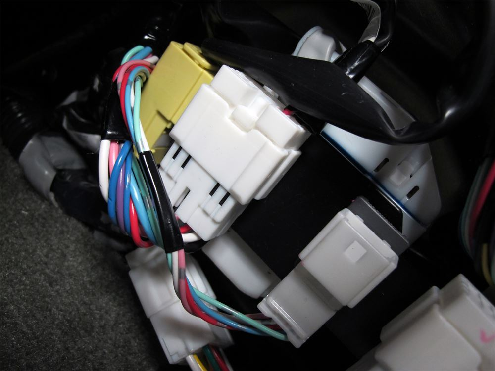 Nissan xterra custom fit vehicle wiring curt