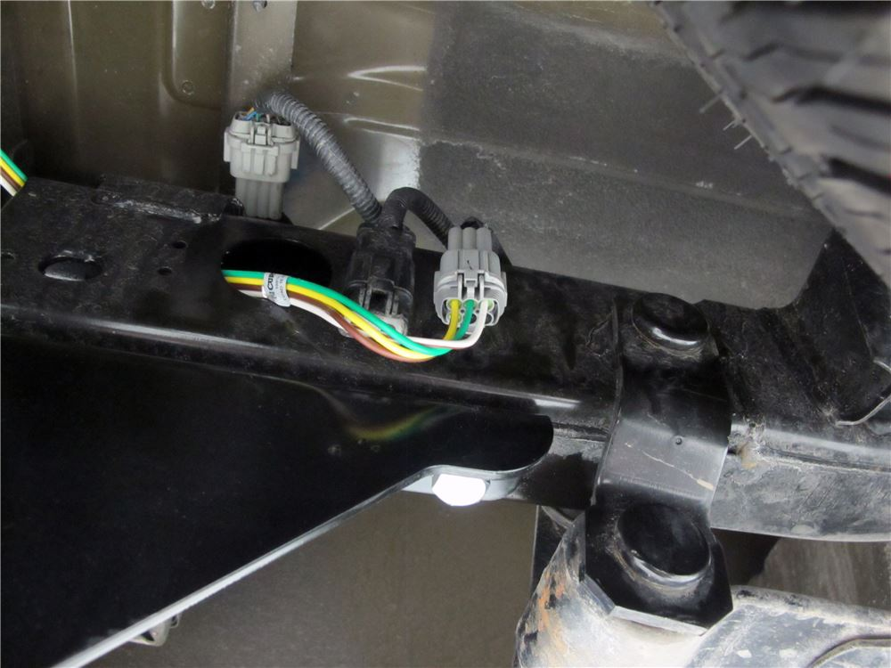 Nissan Altima Trailer Wiring Harness : Nissan frontier curt t connector vehicle wiring