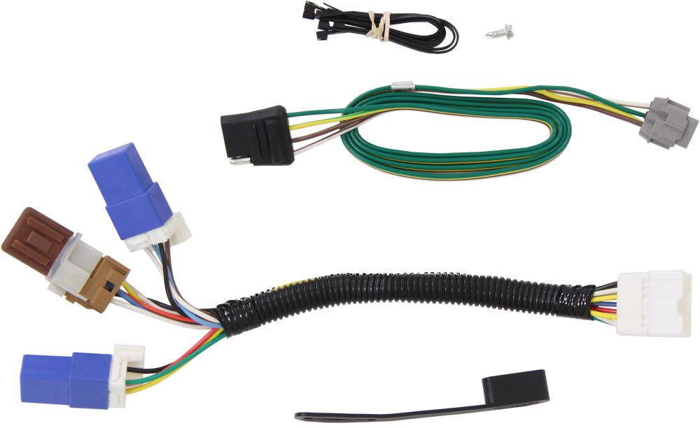 Superb Curt T Connector Vehicle Wiring Harness With 4 Pole Flat Trailer Wiring 101 Kwecapipaaccommodationcom