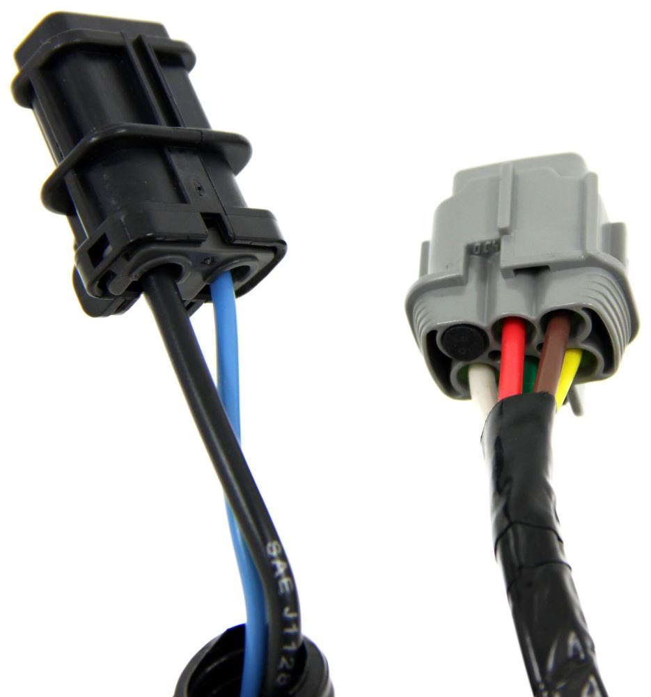 Compare Curt T Connector Vs Nissan Xterra Trailer Hitch Wiring C56226 7 Blade