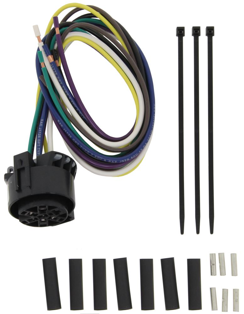 Universal Wiring Harness Reviews : Curt universal wiring harness for vehicle end trailer