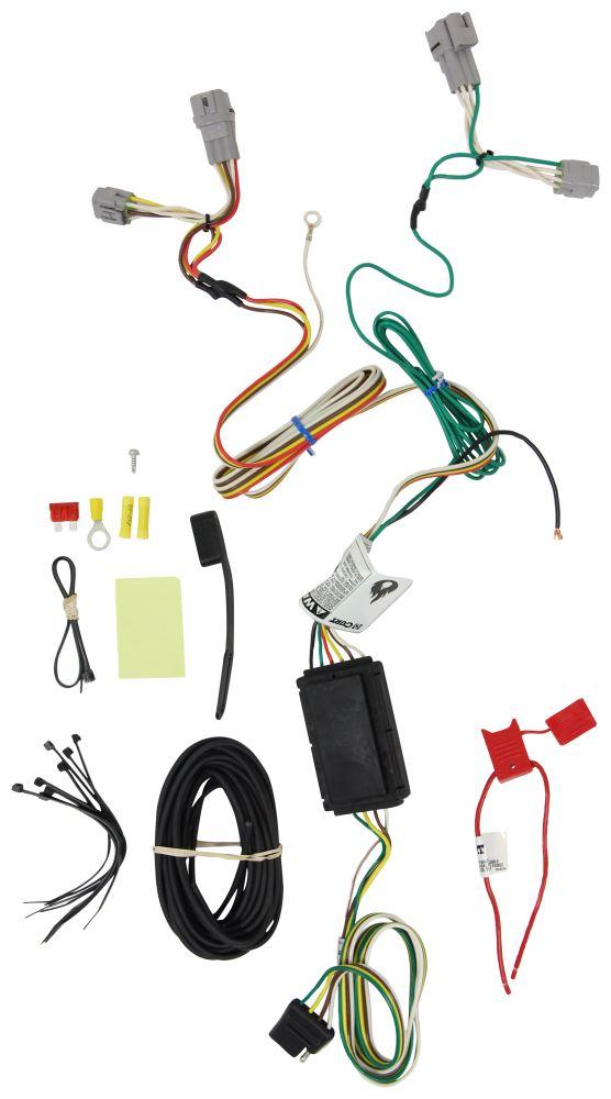 2017 subaru crosstrek curt t connector vehicle wiring harness with 4 rh etrailer com
