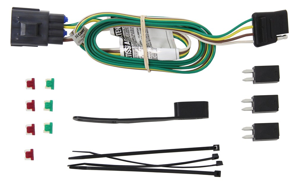 c56245_4_1000 curt t connector vehicle wiring harness for factory tow package 4