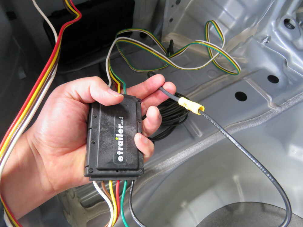 2015 Subaru WRX Curt T-Connector Vehicle Wiring Harness with 4-Pole