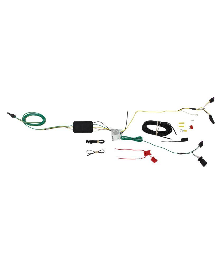 Compare T One Vehicle Wiring Vs Curt Connector Etrailercom Trailer Hitch Harness C56274