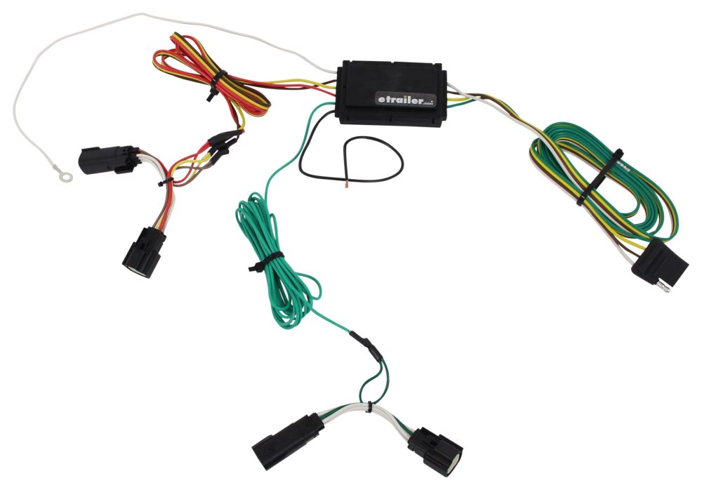 Ford edge curt t connector vehicle wiring harness