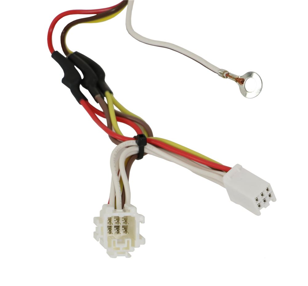 Compare Curt T Connector Vs Wiring Harness Vehicle With 4 Pole Flat Trailer