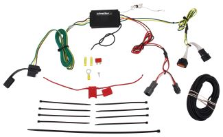 2017 kia sportage custom fit vehicle wiring curt. Black Bedroom Furniture Sets. Home Design Ideas