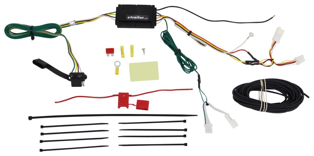 Curt Powered Converter Custom Fit Vehicle Wiring - C56324
