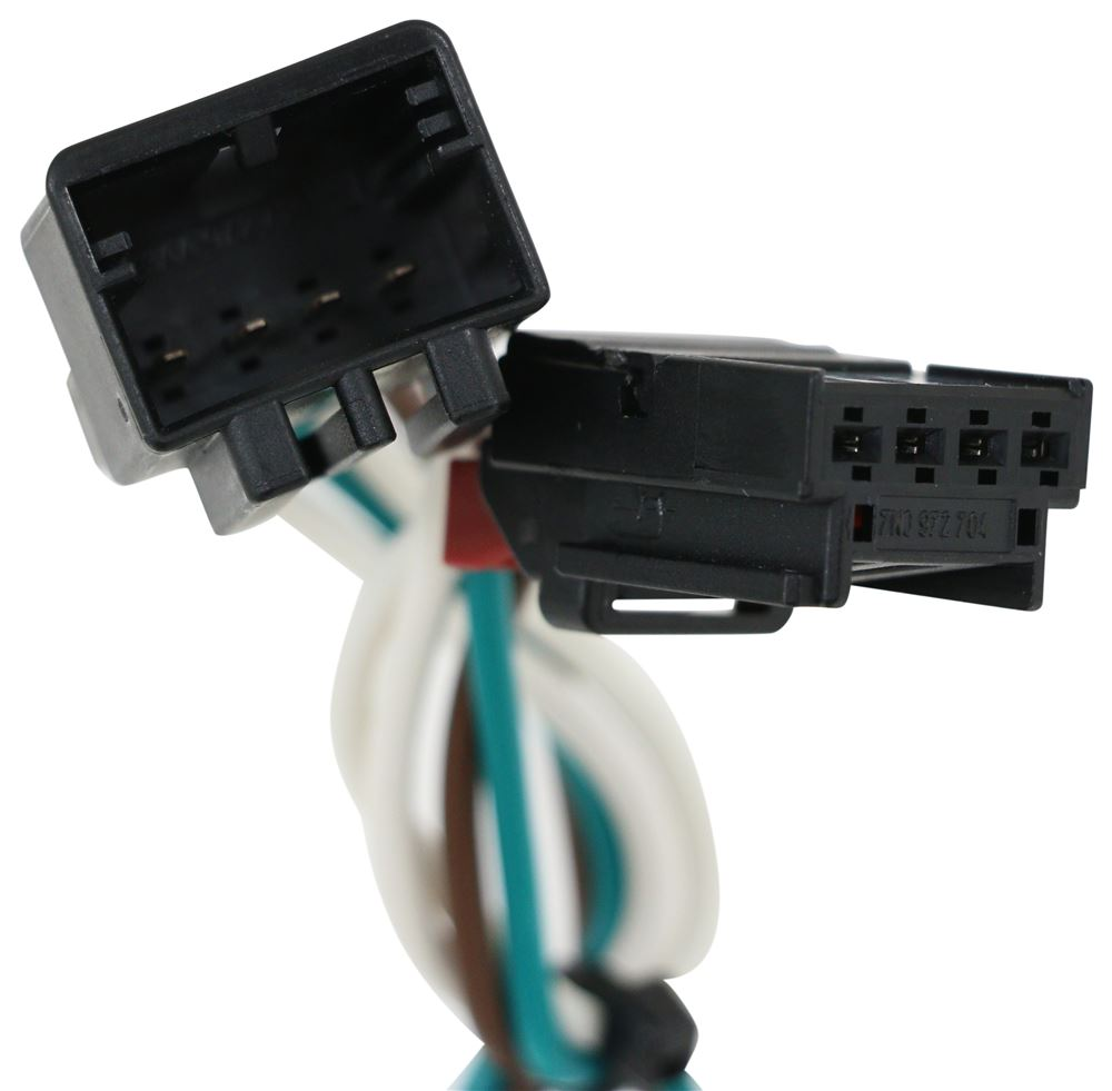 Compare T One Vehicle Wiring Vs Curt Connector Harness With 4 Pole Flat Trailer