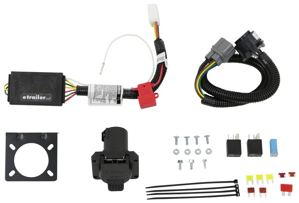 C56366 - 7 Blade Curt Custom Fit Vehicle Wiring