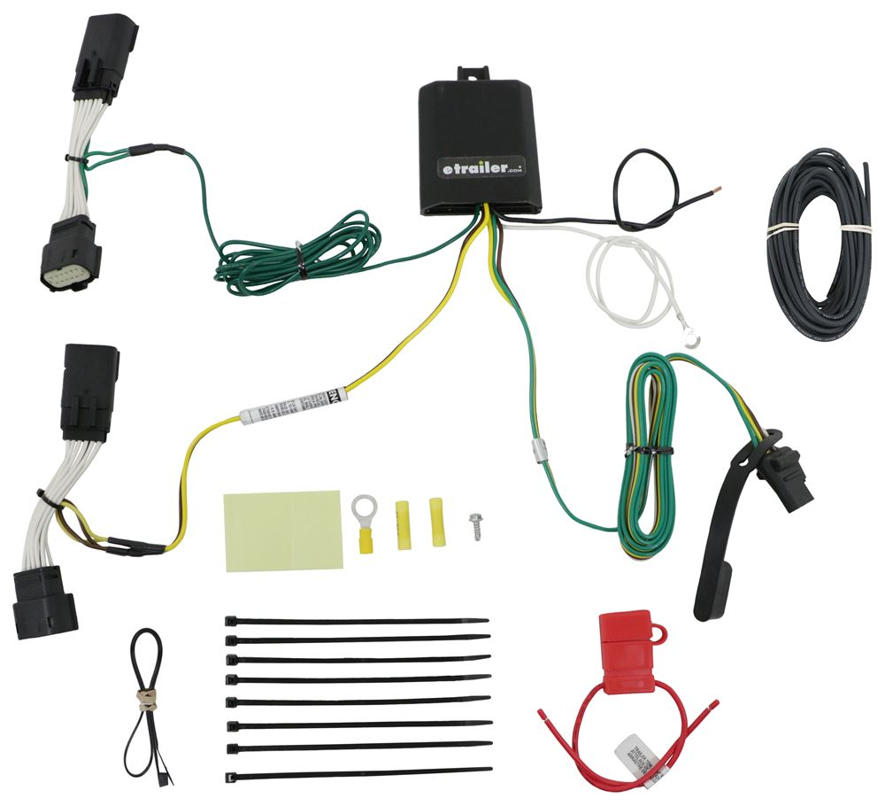 Curt Custom Fit Vehicle Wiring - C56407