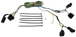 Curt T-Connector Vehicle Wiring Harness with 5-Pole Flat Trailer Connector