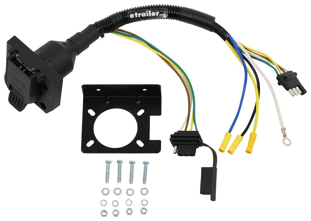 etrailer Plug and Lead Wiring - C57672