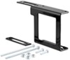 curt accessories and parts  4 flat 5 easy mount bracket for 4- or 5-way trailer connector - 2 inch hitch