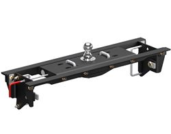 Curt EZr Double Lock Underbed Gooseneck Trailer Hitch with Installation Kit - 30,000 lbs