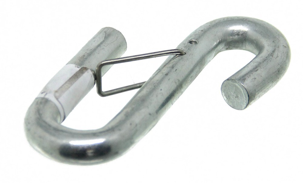 Curt S Hook With Wire Keeper For Safety Chains And Cables