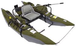 Classic Accessories 9' Pontoon Boat with Transport Wheel - The Colorado XT - Green