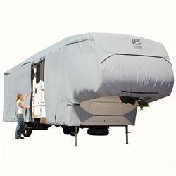 Classic Accessories PermaPRO Deluxe Extra Tall 5th Wheel Cover or Toy Hauler Cover - XT Model 7