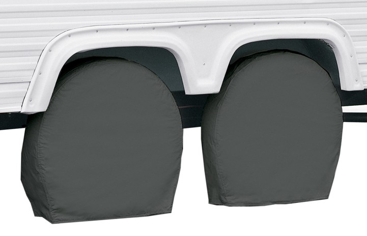 Rv Wheel Covers : Classic accessories rv wheel covers quot to gray