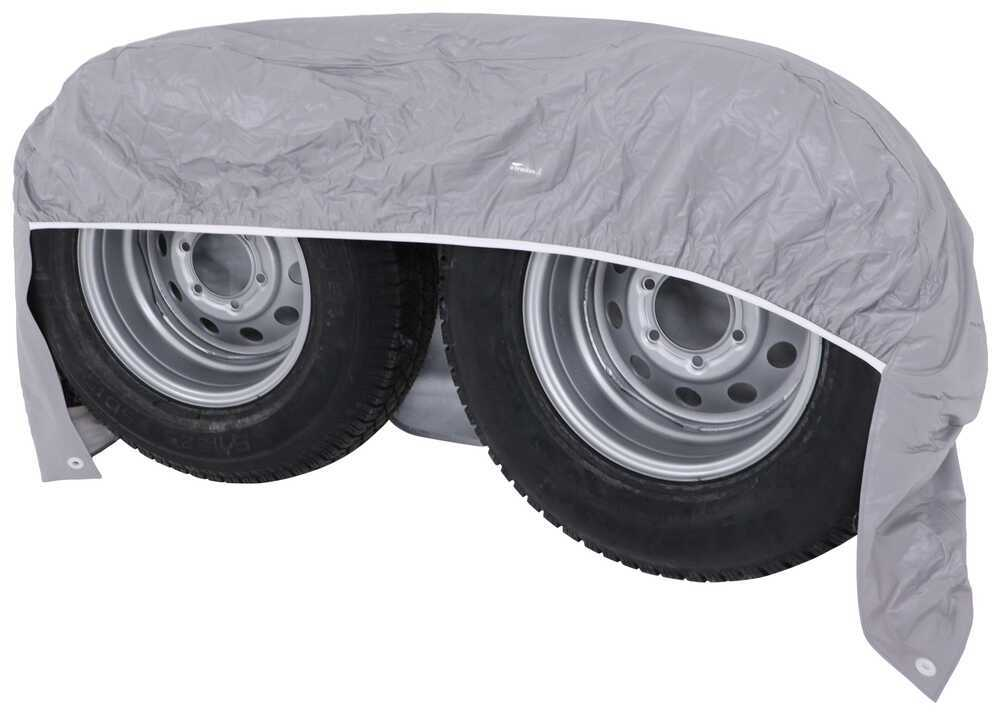 Classic Accessories OverDrive Black Dual Axle Wheel Cover For 30-33 Diameter Tires