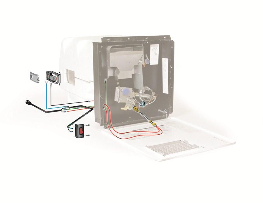 Camco Propane To Electricity Converter For 6 Gallon Rv