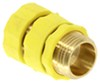 Camco Quick Hose Connect w/ Flow-Through Connection - Brass Hose Connector CAM20143