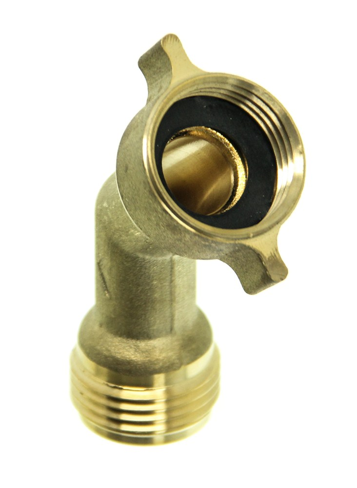 Camco water hose brass elbow degree rv fresh