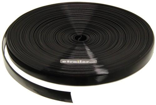 Camco RV Vinyl Trim Insert - Black - 100' Long x 3/4