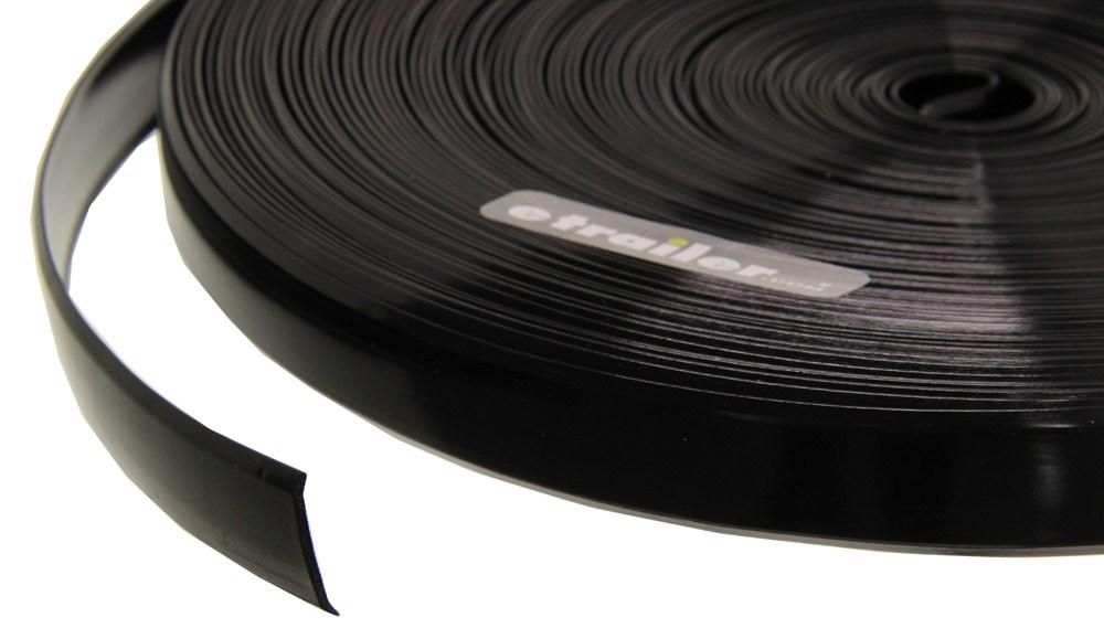Camco Rv Vinyl Trim Insert Black 100 Long X 3 4 Quot Wide