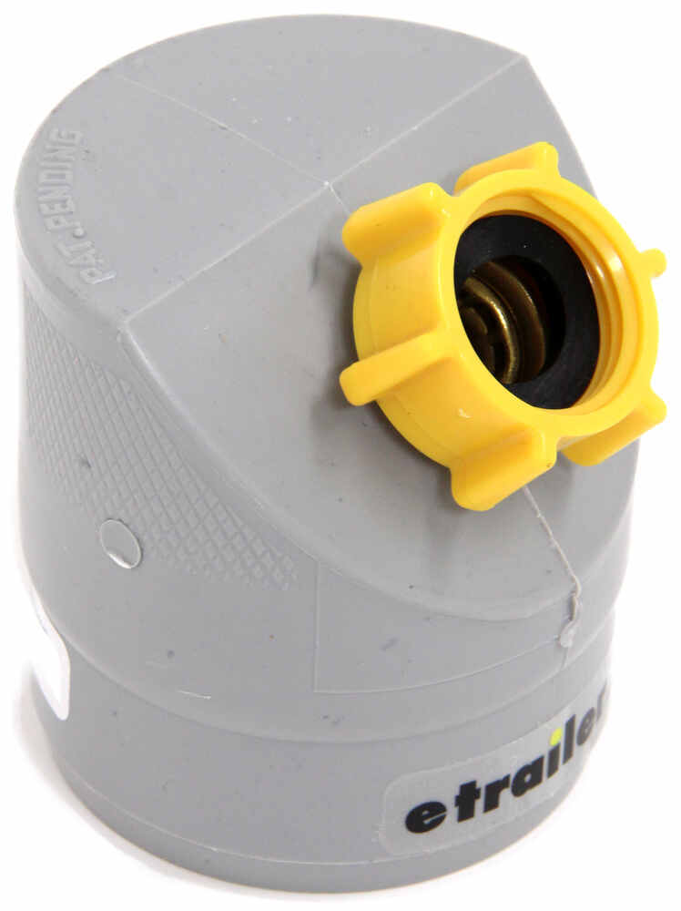 Easy slip rv gray water drain adapter camco sewer cam
