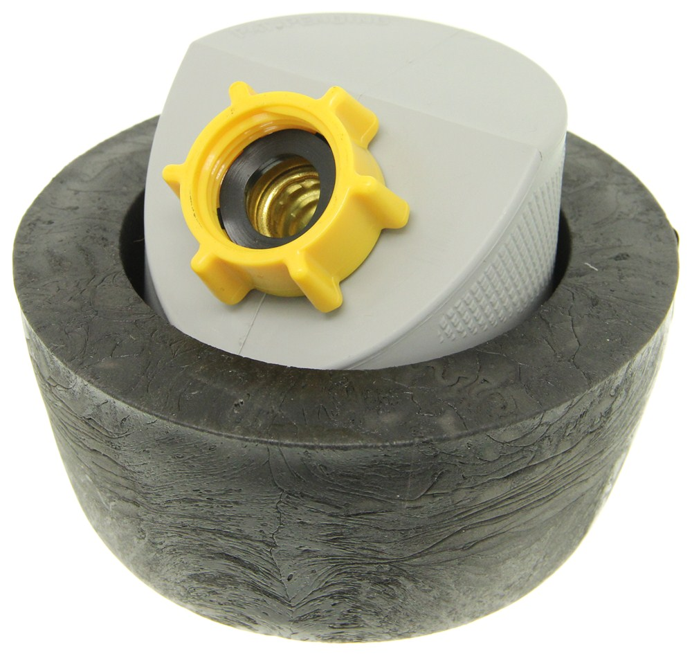 Camco rv gray water drain adapter w seal sewer